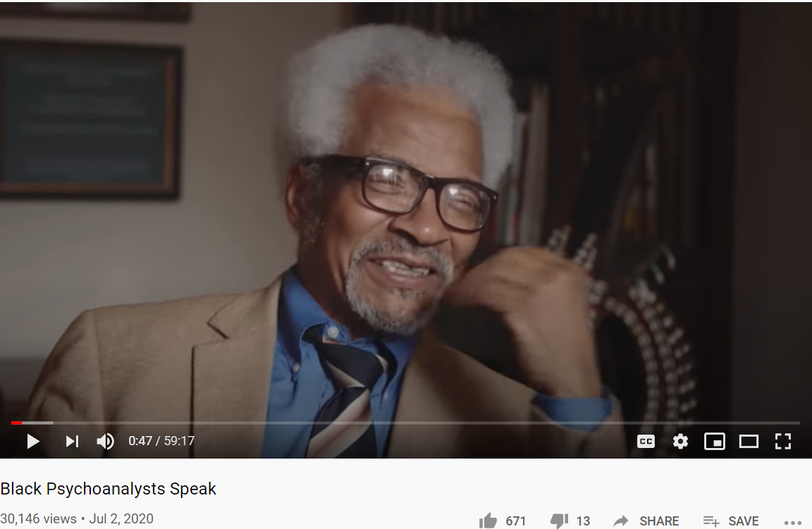 Black Psychoanalysts Speak